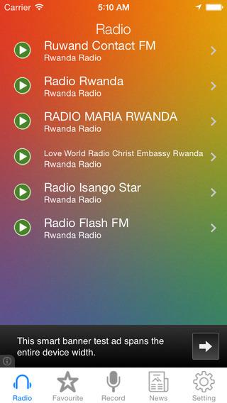 Rwanda Radio News Music Recorder