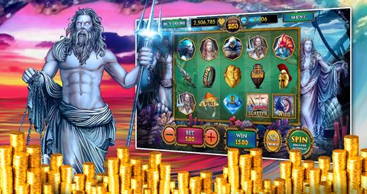 Slots Poseidon's Kingdom Free Casino Pokies