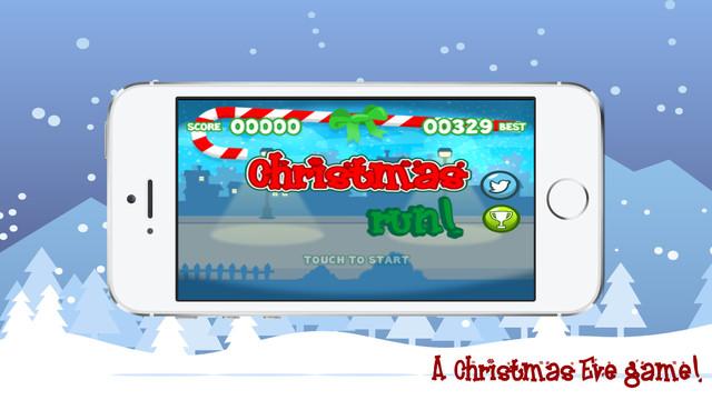 Christmas Run Santa's sleigh fell so help him pickup presents and save Christmas