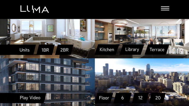 Luma Condominiums - Virtual Reality Experience for iPhone