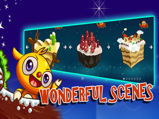 Monster Fly Saga Christmas Edition-Most popular candy or star casual game Screenshots