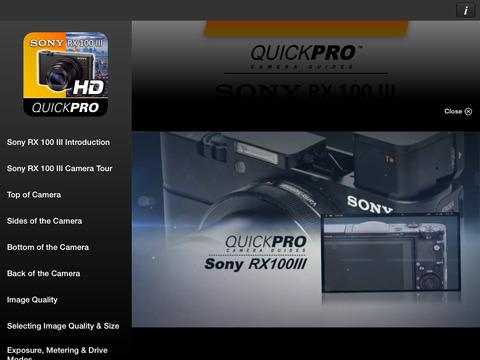 SONY HVR-Z7 Camcorder Training from VASST iPad Screenshot 2