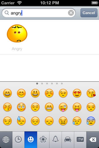 Screenshot 2 Emoticon.s Free & Emoji Keyboard icons & Animated Emojis Stickers for Whatsapp Chatting