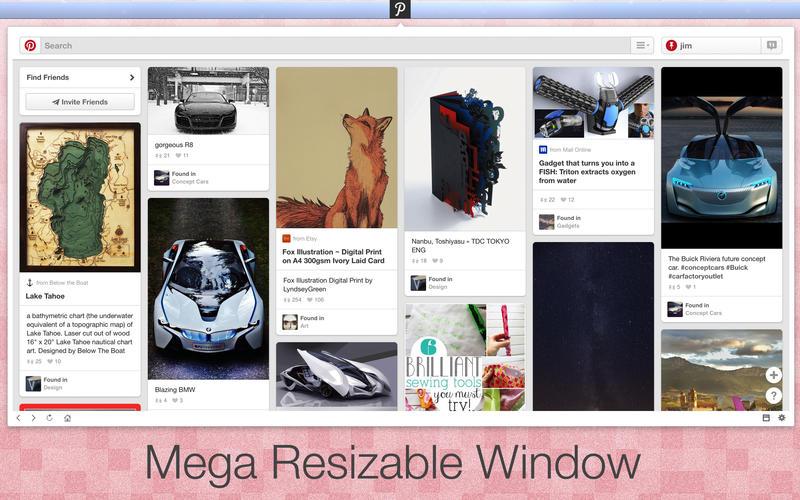 App for Pinterest Screenshot - 2
