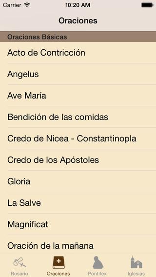 Santo Rosario Esp iPhone Screenshot 2