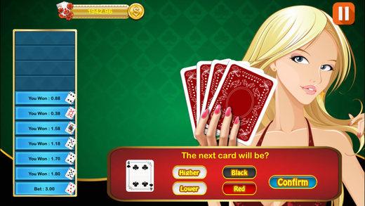 HiLo Card Casino Game