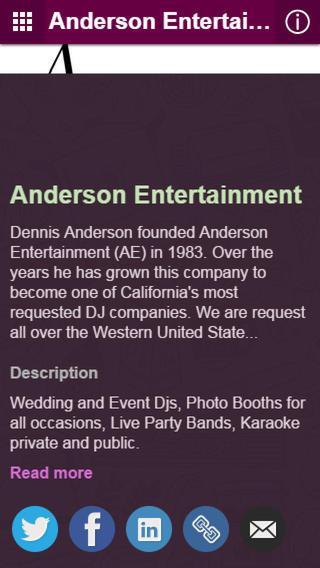 AE Karaoke Anderson Entertainment