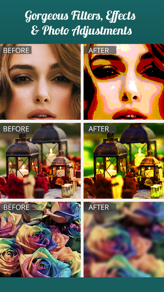 Photo Editor for Effects Filters etc - Share Your Pics into Social Networks