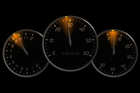 0 to 60 Speedo Clock screenshot 2
