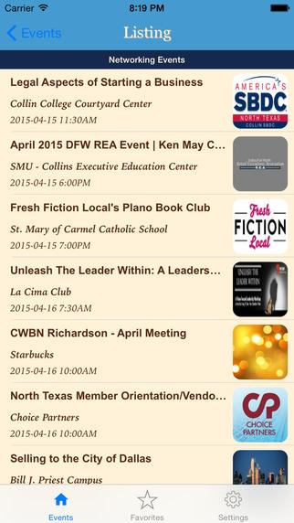 DFW-Events