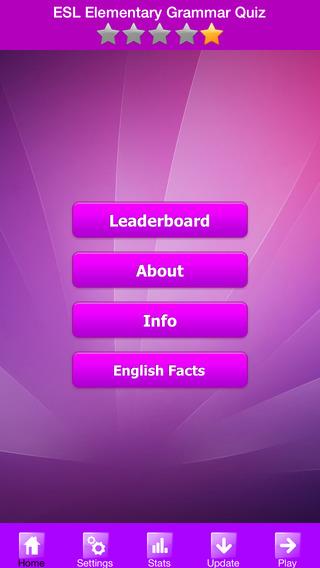 ESL Elementary Grammar Quiz