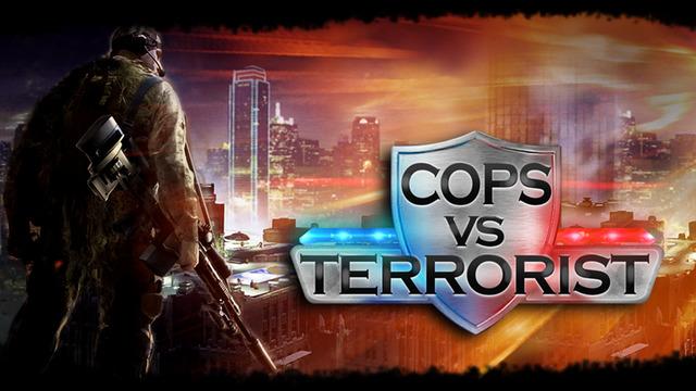 Cops vs Terrorist 3D - Shoot Kill the Criminals in this FPS Shiper Shooter Free Game