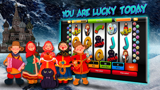 +777 Russian Slot Deluxe Machines Free House Of Rich Casino Party with Vegas Cliff Slots