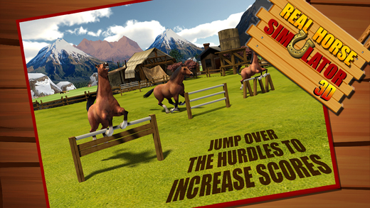 Real Horse Simulator 3D - Experience the ride of Wild horse in challenging Ultimate farm field