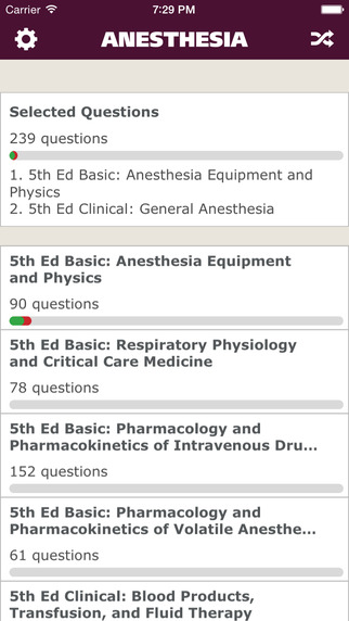 Anesthesia Comprehensive Review