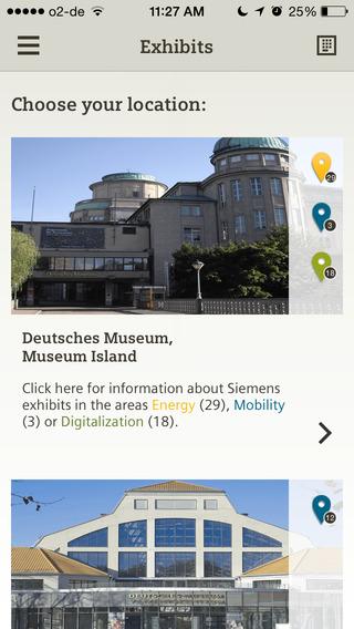 Siemens Exhibits at the Deutsches Museum
