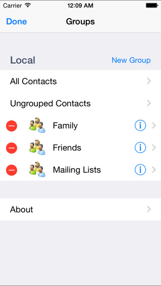 Groupy iPhone Screenshot 2