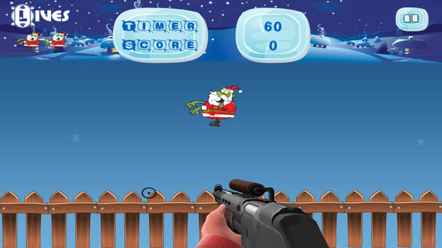 Zombie Christmas Plague - Monster Shooting Mayhem- Free