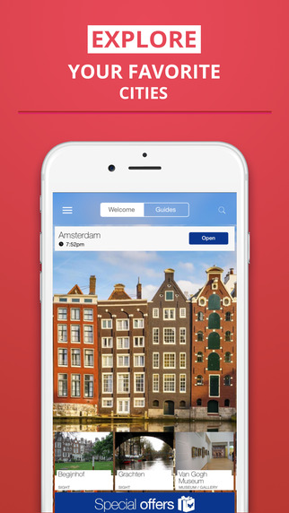 Amsterdam - your travel guide with offline maps from tripwolf guide for sights restaurants and hotel