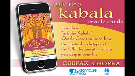Ask The Kabala Oracle Cards - Deepak Chopra