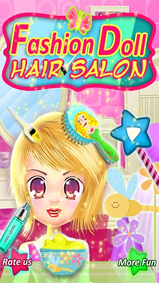 Fashion Doll Hair Salon