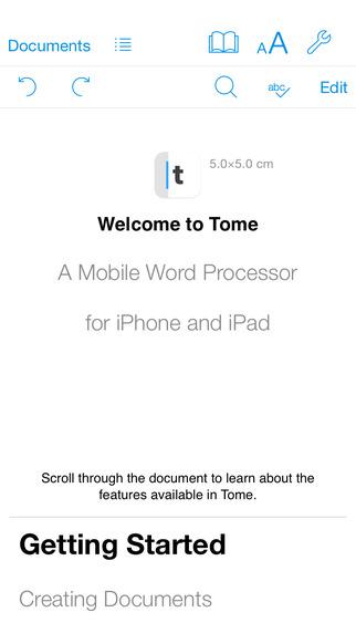 Tome - 文档编辑应用[iOS][¥12→0]丨反斗限免