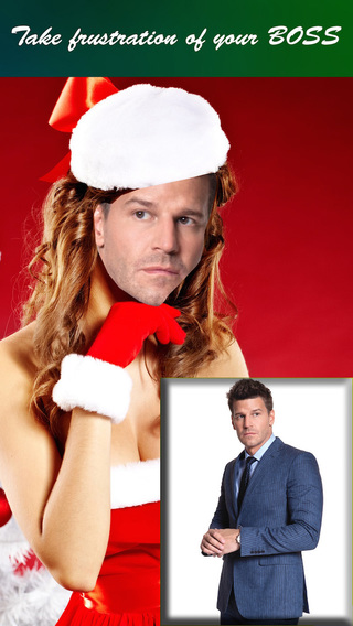 Christmas Face Maker - Make Yourself into Santa Claus