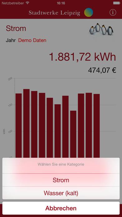 Strom21.smart iPhone Screenshot 4