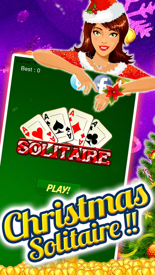 A Christmas Solitaire Vegas Best X-Mas Cards Competitive Freecell Casino train-ing