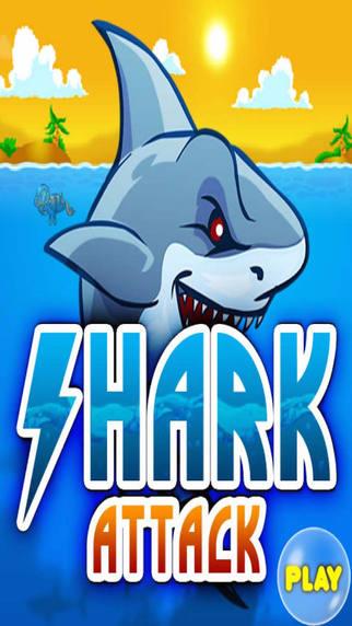Shark Attack Realy Hungry