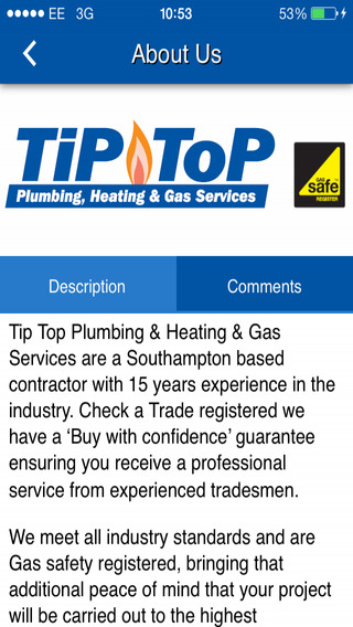 Tip Top Plumbing Heating Gas Services