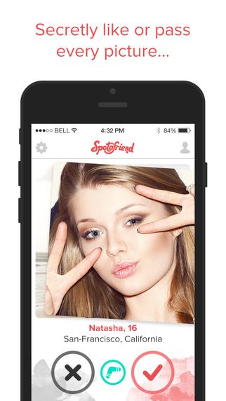 Spotafriend - A Teen Meeting App to Make New Friends