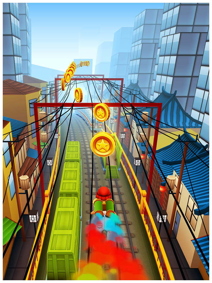 Subway Surfers - iPhone Mobile Analytics and App Store Data