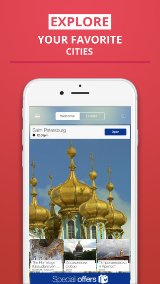 Saint Petersburg - your travel guide with offline maps from tripwolf guide for sights restaurants an