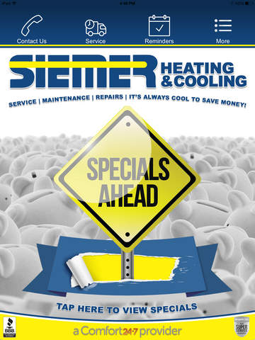 玩生產應用App|Siemer Heating & Cooling免費|APP試玩