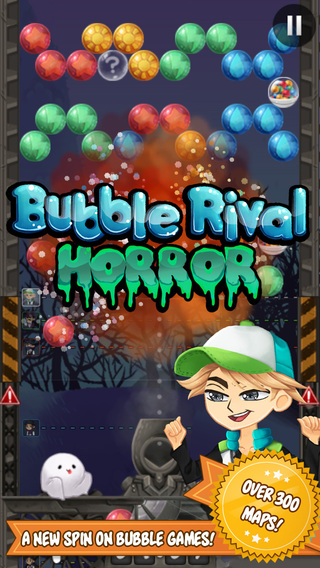 Bubble Rival - Horror Halloween - A puzzle racing shooter game