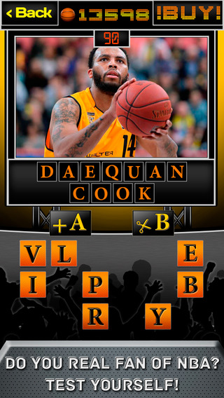 Quiz Puzzles for Basketball stars - The Best Game for Real Basketball Fans