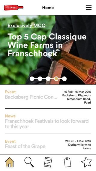 Sideways – South African wine farm discovery