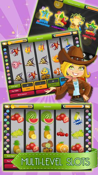 Aqua Slot - Golden Fish Sea-Story free Slot Machine for Fun