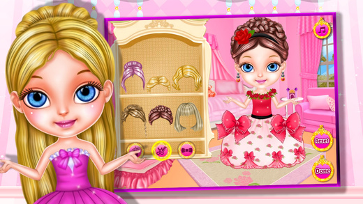 Little princess party dressup^0^