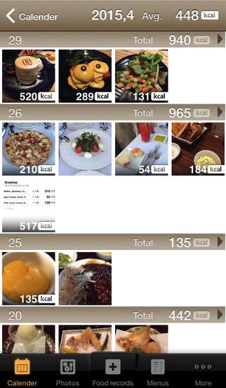 FoodLog : Calorie Counter