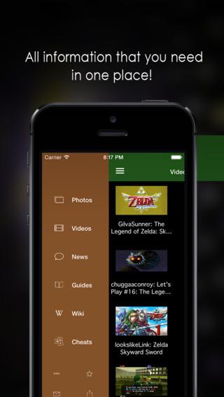 App for Legend of Zelda - Unofficial