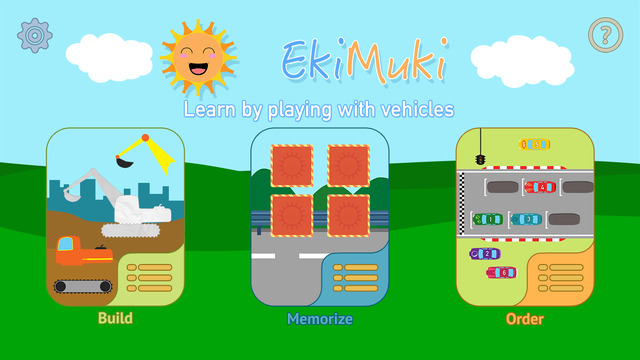 EkiMuki - Learn by playing with vehicles