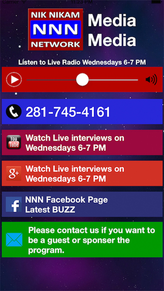 NNN MEDIA APP: Brings latest news views opinions interviews comedy and much more.