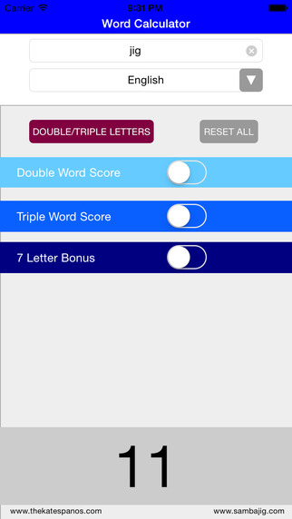 Word Calculator