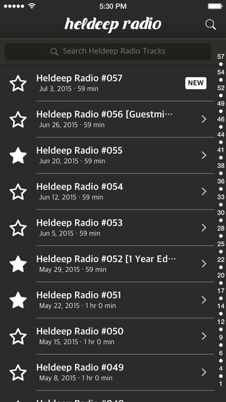 Heldeep Radio Track Finder