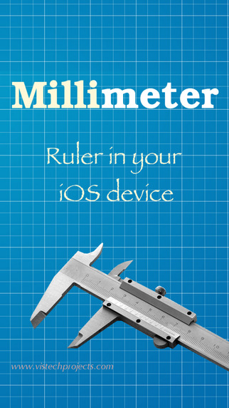 Millimeter - screen ruler on scale paper Screenshots
