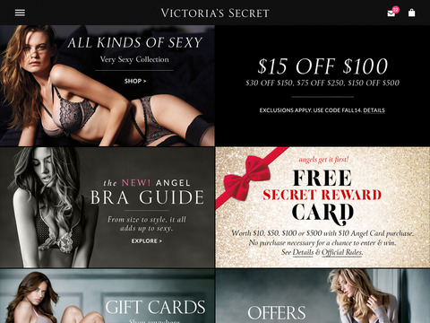 Victoria's Secret for iPad