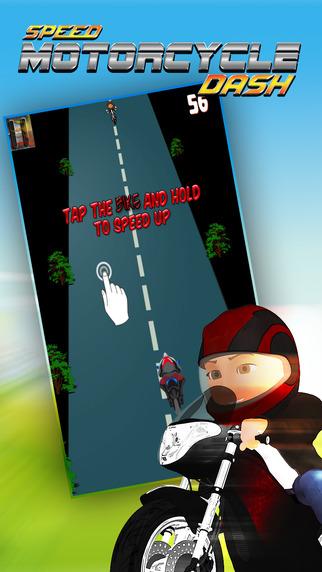 Speed Motorcycle Dash: Asphalt Graveyard Blast