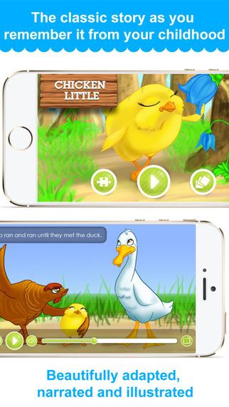 Chicken Little - Narrated Children Story